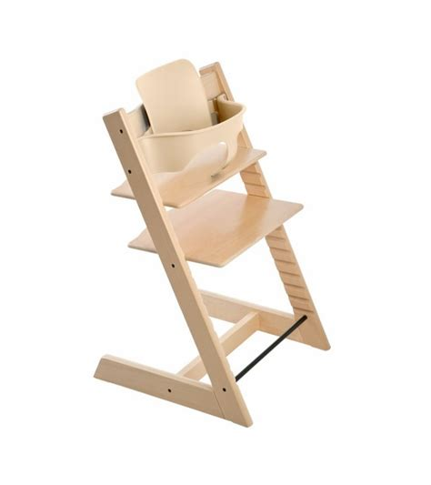 chaise trip trap stokke tripp trapp high chair baby set natural