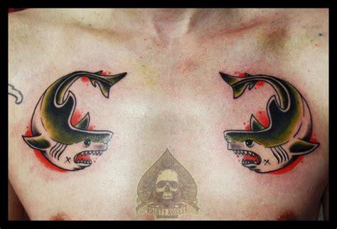 tattoo old school fish shark oldschool by pande lee on deviantart