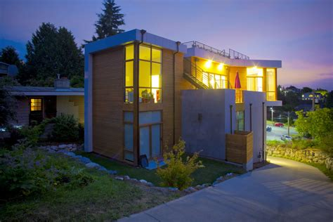 elemental living contemporary houses phinney modern residence by pb elemental