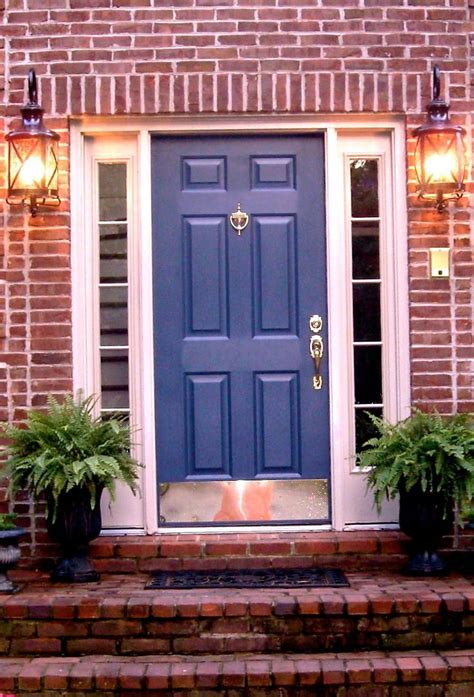 How To Choose A Front Door Color For A Brick House