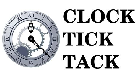 clock ticking sound effect high quality free