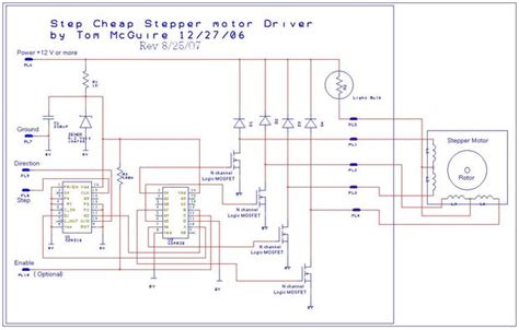 T Motor Stepper 5 Volt Uln2003 Driver Board Stepper easy to build cnc mill stepper motor and driver circuits