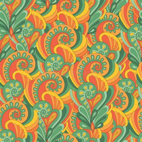 stock pattern screener india seamless sunny indian pattern stock vector illustration