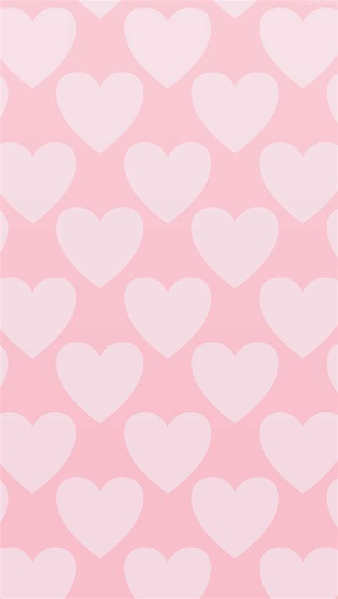 wallpaper iphone heart pink on pink pastel hearts iphone wallpaper phone