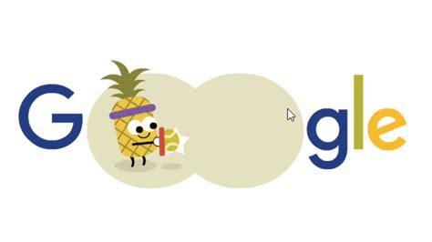 doodle 4 animation doodle 2016 fruit tennis 2 animation