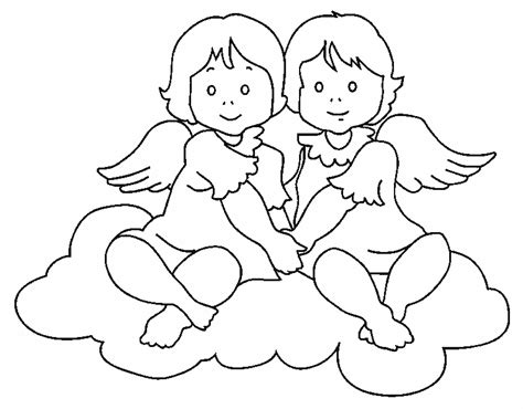 Angel Coloring Pages sketch template