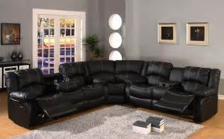 Leather Reclining Sectional Sofa Black Leather Reclining Sectional Sofa Quot We Need To Get Couches Like These Quot Cordero