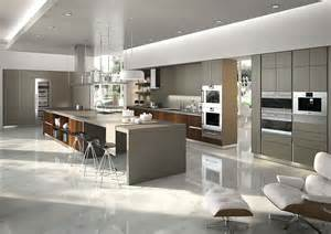 Design Of Modular Kitchen Cabinets Posh Kitchen Compositions Fuse Modularity With Minimal