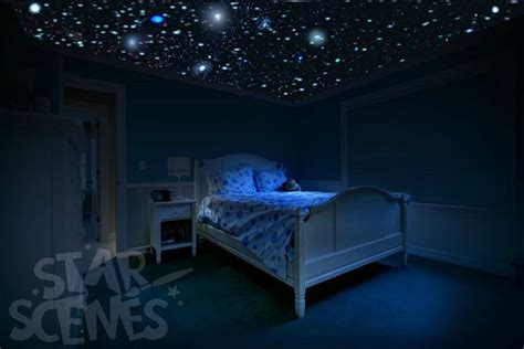 childrens bedroom star ceiling lights glow in the dark stars room idea diy star ceiling by