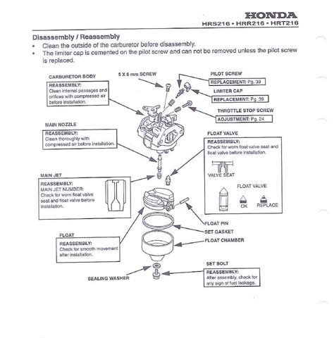 honda small engine illustrated service manual by cycle soft issuu my honda lawn mower starts for a few seconds and then stops this is after i sprayed for some