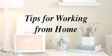 tips for working from home sprinkle of glam