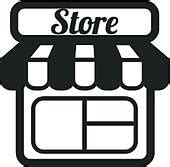 Cleaning An Awning Convenience Store Clip Art Royalty Free Gograph