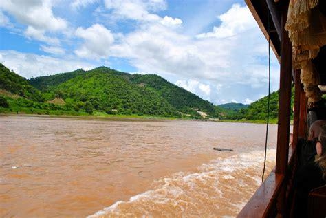 luang prabang to chiang mai boat mekong river boat from chiang mai to luang prabang laos