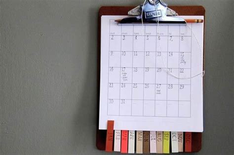 how to make a calendar with photos for free make a simple diy calendar you ll actually want to use