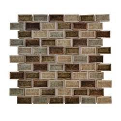 home depot kitchen tiles backsplash jeffrey court mineral crackle 12 in x 12 in x 8