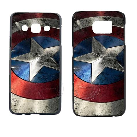 Casing Hp Samsung S6 Edge Plus Captain America Civil War 2 Custom captain america design cover for samsung galaxy s3 s4 s5 s5 mini s6 s7 edge plus note 2 3