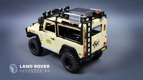 land rover lego lego rc land rover defender 90 the awesomer