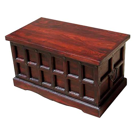 Coffee Table Storage Trunk Beaufort Solid Wood Storage Chest Trunk Box Coffee Table