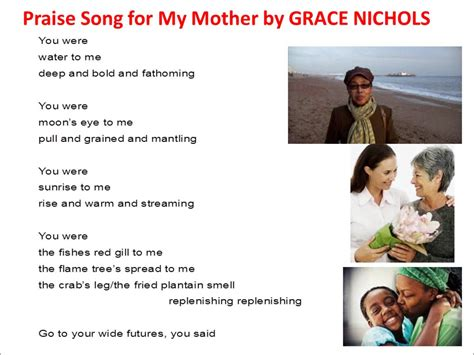 song for my praise song for my read by grace nichols
