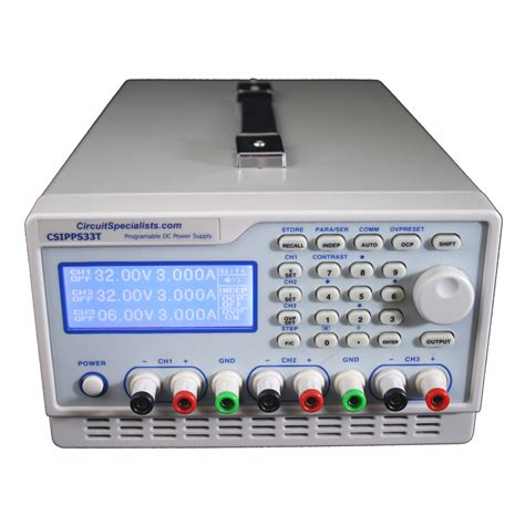 bench power supplies 3 channel 5 amp programmable bench power supply