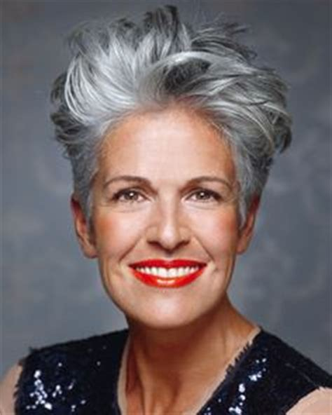 plus size gray hairstyles gray haired woman with short fun hairstyle plus best