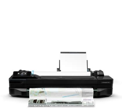 Printer Hp T120 designjet t120 the smallest large format printer hp