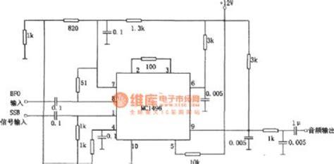 Mc1496d Mc1496 Mc 1496 Ic Balance Modulator multiplying wave detector composed of mc1496 automotive circuit circuit diagram seekic