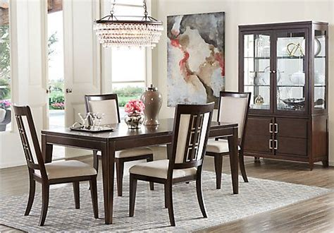 sofia vergara kitchen table sofia vergara santa clarita dark cherry 5 pc dining room