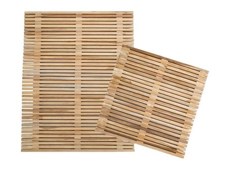 pedana di legno pedana doccia di cip 236 in listellare di legno