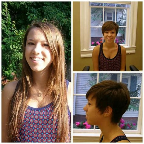 pixie cut before and after 17 best images about pixie cuts on pinterest brown pixie