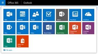 Office 365 Mail App For Windows Shortcuts To Mail Calendar And In Outlook On The