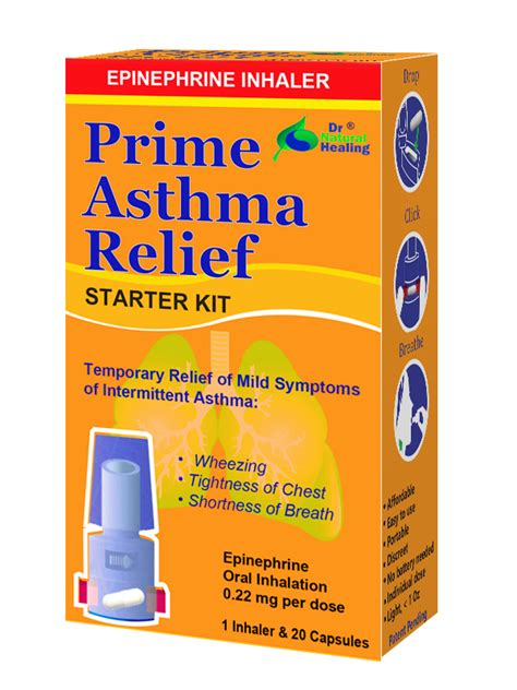 relief the counter prime asthma relief the counter inhaler dr healing