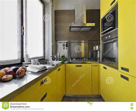 cuisine moderne jaune cuisine moderne jaune