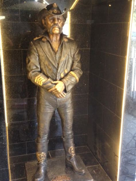Lemmy's Favorite Bar Erects Permanent Statue to Honor ... I M Lost Quotes