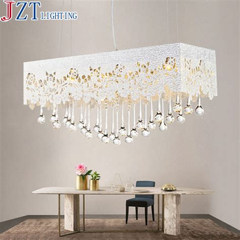 dining room l shades m 2016 newest dining room pendant light rectangular pattern carved l65 w23cm 8 2w metal
