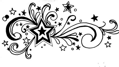 star and swirl tattoo designs and swirls by aamnanaeem on deviantart