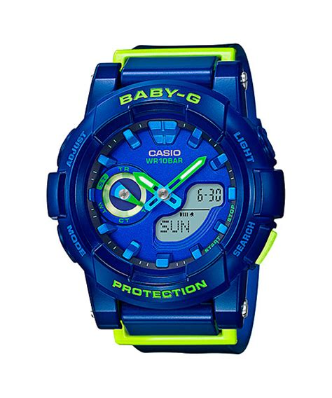 Casio Baby G Bga 185fs 4a baby g blue pink and white bga 185fs