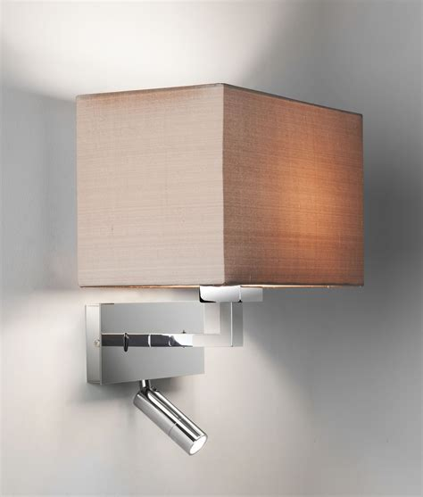 switched bedside reading light  pivoting led arm