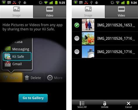 imagenes ocultas en android oculta fotos con kii safe crea tu 225 lbum privado en