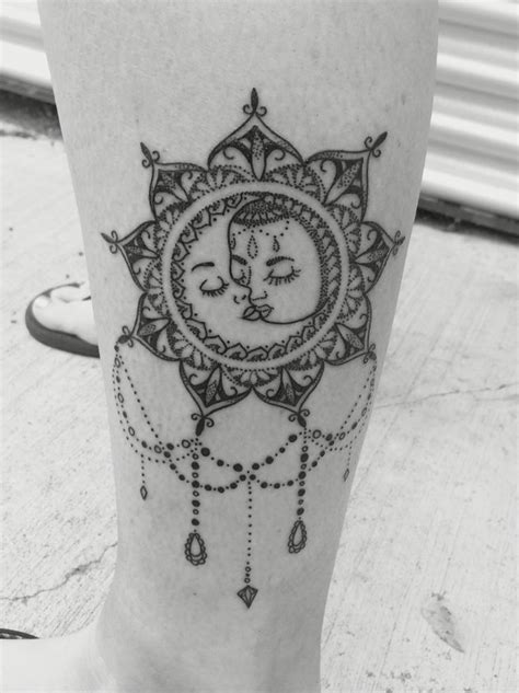 mandala moon tattoo 25 best ideas about mandala sun on sun