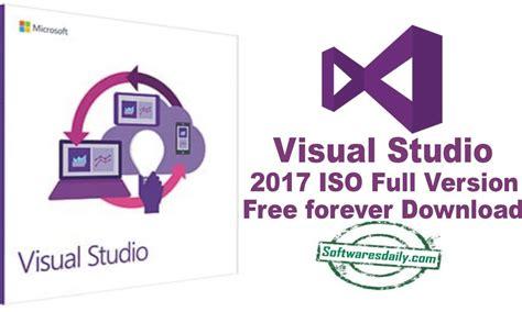full version software forever visual studio 2017 iso full version free forever download