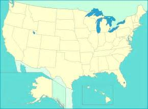 Map Of The United States With Cities by United States Map Map Of Us States Capitals Major