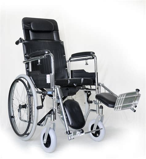 reclining commode wheelchair reclining wheelchair with commode rehabcare equipment