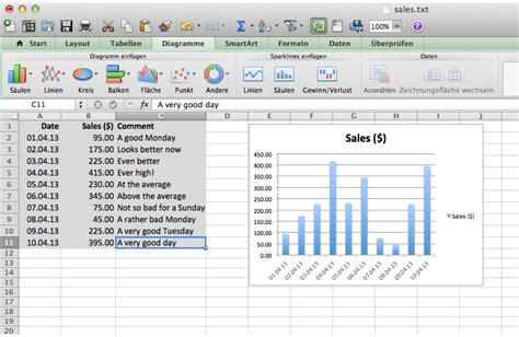 microsoft excel easy way to create a chart in