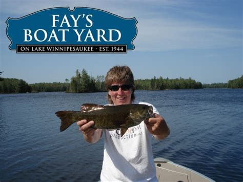 fay s boat yard to offer guided kayak fishing trips on - Fay S Boat Yard Gilford Nh