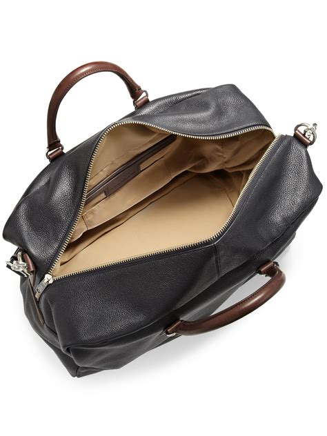 Marc By Marc Aline Leather Handbag by Lyst Marc By Marc Pebbled Leather Duffle Bag In