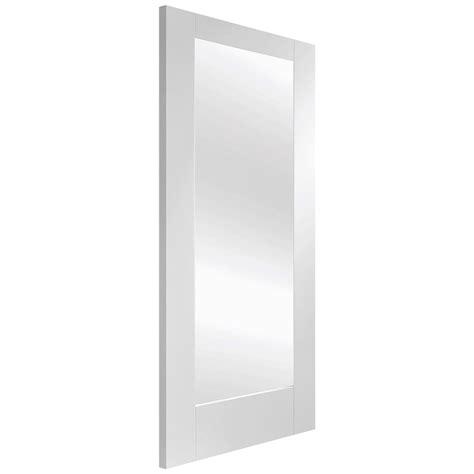 pattern 10 white glazed door xl joinery pattern 10 white primed clear glass internal
