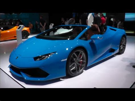 Suara Mobil Lamborghini Suara Gahar Lamborghini Huracan Spyder 2016
