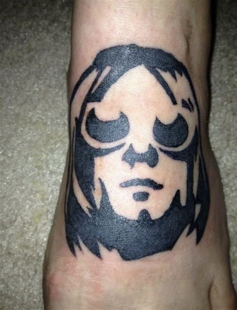 kurt cobain tattoos 17 best images about portrait tattoos on