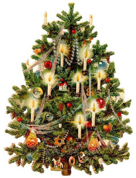 vintage christmas tree victorian christmas tree wings of whimsy